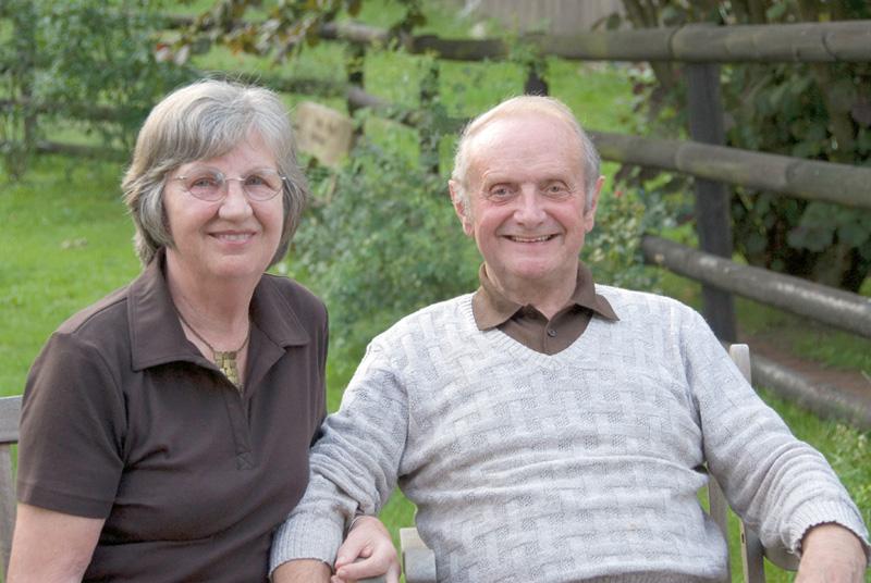 Frau Elsa und Dr. Rudi Prasse